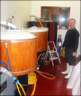 Bob in the brewery